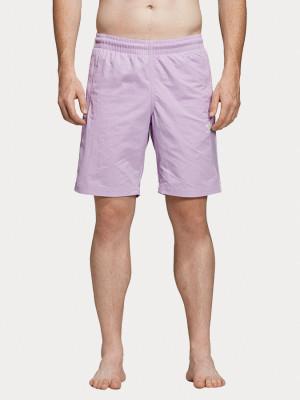 Boardshortky adidas Originals 3-Stripes Swim Růžová