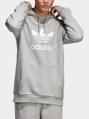 Mikina adidas Originals Trefoil Hoodie Šedá