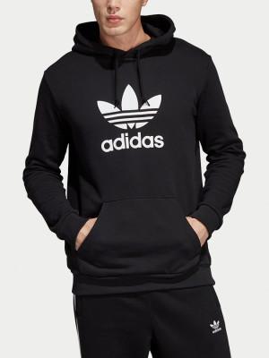 Mikina adidas Originals Trefoil Hoodie Černá