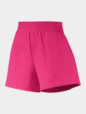 Kraťasy Puma Soft Sports Shorts Fialová