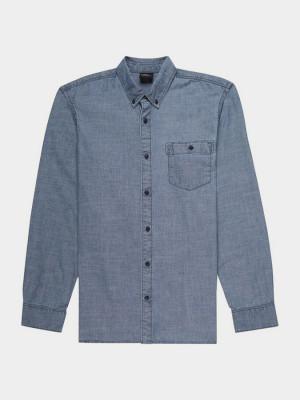 Košile O´Neill Lm Chambray L/Slv Shirt Modrá