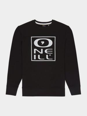 Mikina O´Neill Lm Tonal Crew Sweatshirt Černá