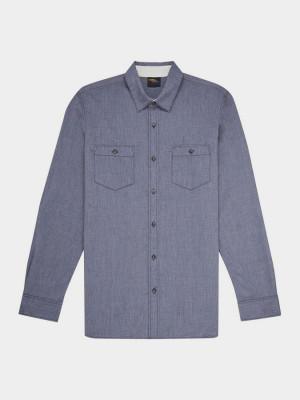 Košile O´Neill Lm Fillafill L/Slv Shirt Modrá