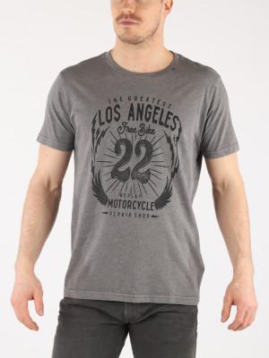 Tričko Replay M3637 T-Shirt Šedá