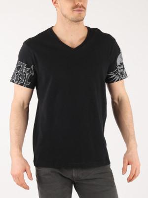 Tričko Replay M3634 T-Shirt Černá