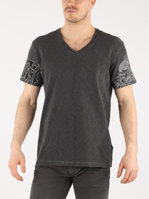 Tričko Replay M3634 T-Shirt Šedá