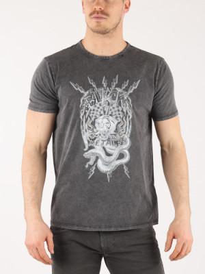 Tričko Replay M3615 T-Shirt Šedá