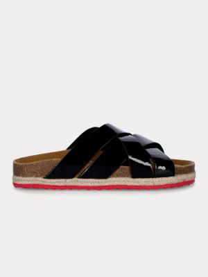 Pantofle Paez Sandal Cross Spark Black Černá