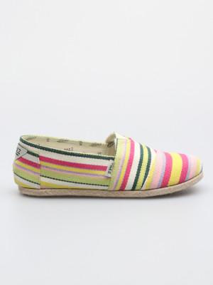 Boty Paez Classic Yellow Stripes Multicolor Barevná