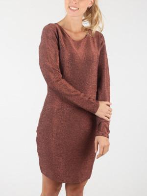 Šaty Superdry Mia Shimmer Dress Červená