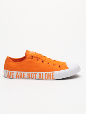 Boty Converse Chuck Taylor All Star We Are Not Alone Žlutá