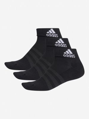 Ponožky adidas Performance Cush Ank 3 Pack Černá