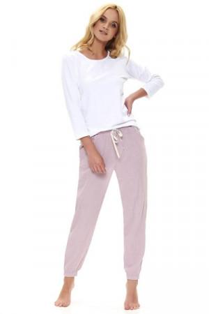 Dn-nightwear SPO.9759 Pyžamové kalhoty XL flamingo