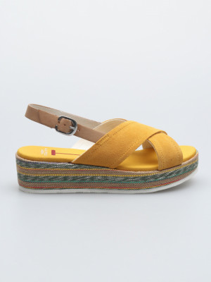 Sandály U.S.Polo Capri Žlutá