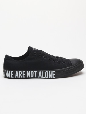 Boty Converse Chuck Taylor All Star We Are Not Alone Černá