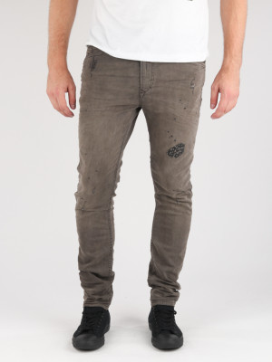 Jogg Jeans Diesel Spender-Ne Sweat Jeans Hnědá