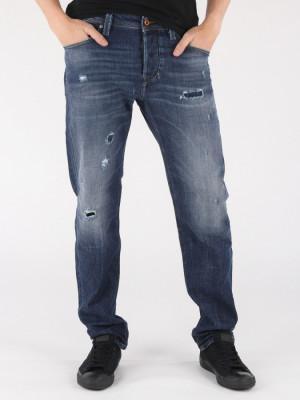 Džíny Diesel Larkee-Beex L.32 Pantaloni Modrá
