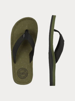 Žabky O´Neill Fm Chad Structure Sandals Zelená