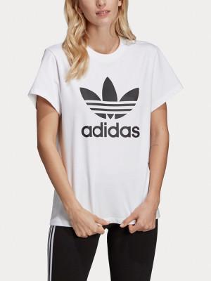 Tričko adidas Originals Boyfriend Tee Bílá