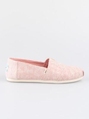 Boty Toms Pink Glitter Daisy Wm Alpr Esp Růžová