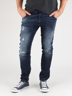 Jogg Jeans Diesel Krooley-Ne Sweat Jeans Modrá