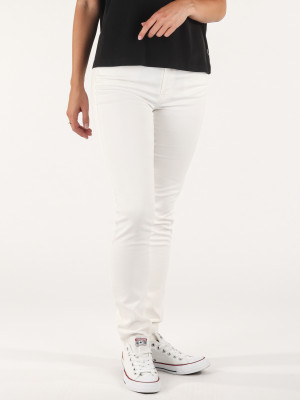 Jogg Jeans Diesel Doris-Ne Sweat Jeans Bílá