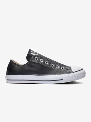 Boty Converse Chuck Taylor All Star Slip Basic Leather Černá