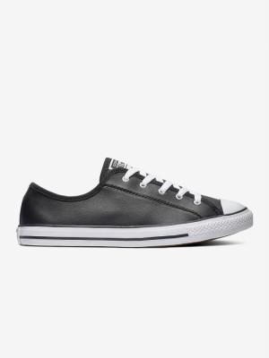 Boty Converse Chuck Taylor All Star Dainty Basic Leather Černá
