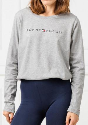 Dámské tričko Tommy Hilfiger UW0UW01910 L Sv. šedá
