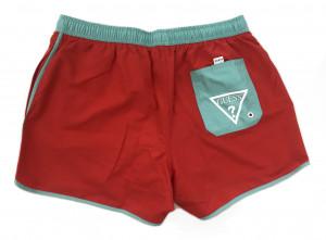 Pánské plavkové šortky F94T00TEL60-G501 červená - Guess červená