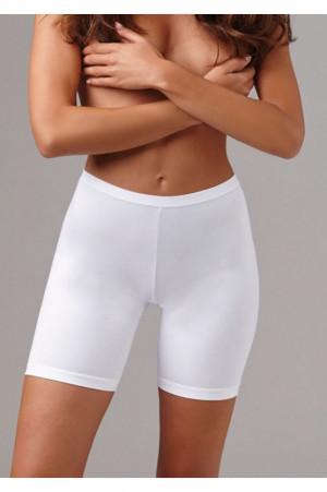 Dámské kalhotky s delší nohavičkou Cinzia bílá - Lovelygirl bílá 4/M