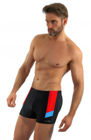 Pánské plavky boxerky Sesto Senso 381 M-2XL černá