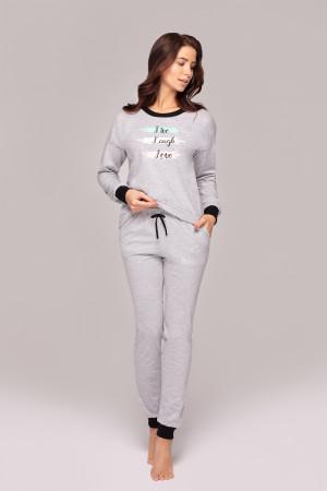Dámské pyžamo Regina 892 dł/r 2XL tmavě modrá