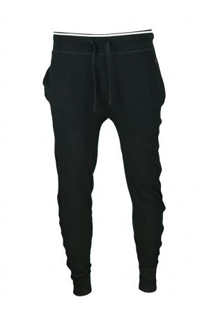 Pánské pyžamové kalhoty 714754030004 černá - Ralph Lauren černá
