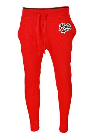 Pánské pyžamové kalhoty 714754030003 červená - Ralph Lauren červená