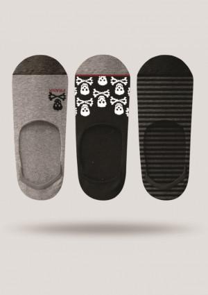 Pánské ponožky John Frank JF3NS17S21 3PACK  UNI Dle obrázku