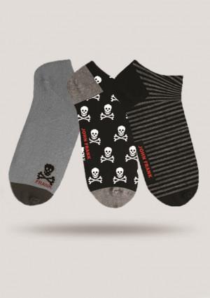Pánské ponožky John Frank JF3SS18S24 3PACK  UNI Dle obrázku
