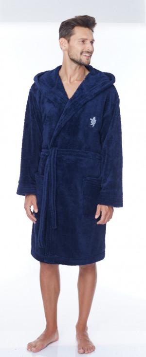 Pánský župan BRUCE tmavě modrá