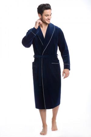Župan FR-063 tmavě modrá 2XL