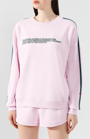Dámská mikina QS6187E-AUY růžová - Calvin Klein  růžová