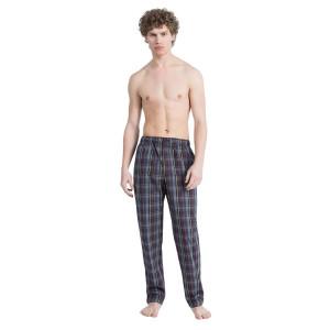 Pánské kalhoty noční  NM1517E-7HJ- Calvin Klein                                                                           modrá