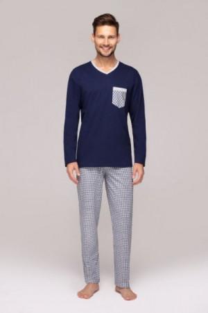 Regina 556 Pánské pyžamo M tmavě modrá