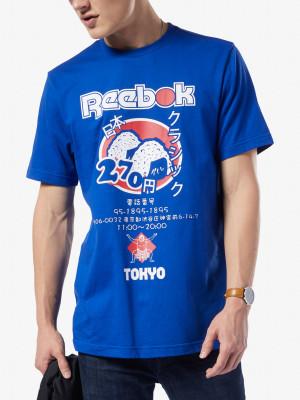 Tričko Reebok Classic Cl Itl Sushi Tee Modrá