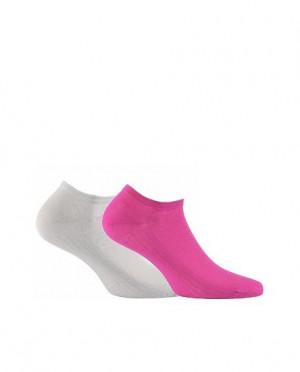 Wola Woman Light Cotton W 81101 Dámské ponožky 39-41 beige/odc.beżowego