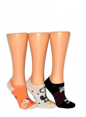 Bratex Ona Classic 5286 dámské ponožky 39-41 bílá