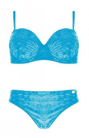 Self S 734 A19 Dámské dvoudílné plavky 40E-L tmavě modrá