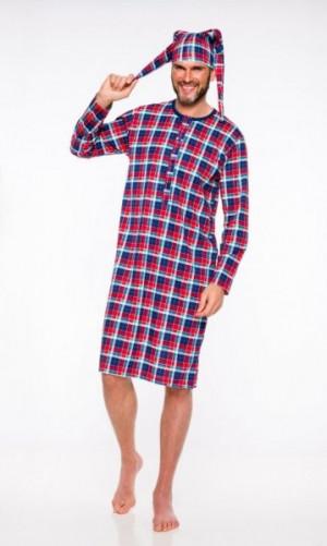 Taro Filip 008 '20 Pánské pyžamo L granatowy-czerwony