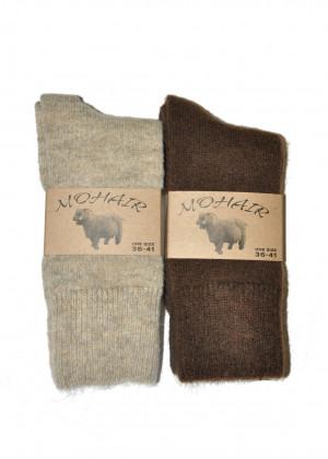 Dámské ponožky WiK 38900 Mohér béžová 36-41