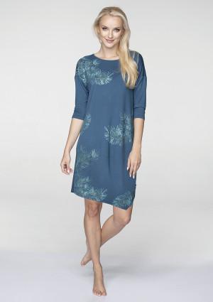 Dámské šaty - noční košile LHD 080 B19 mořská
