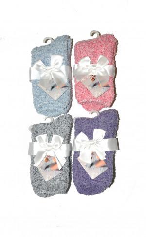Dámské ponožky RiSocks Soft Melange art.3034 černá 35-41